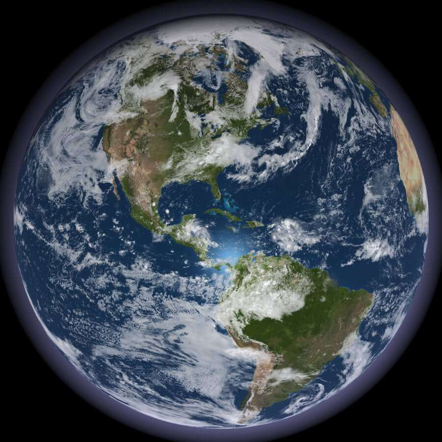 earth from outer space - photo #14