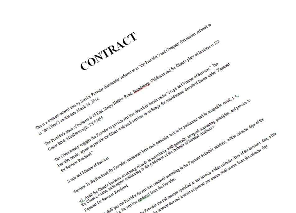 Contractual Relationships Coming Under Fire