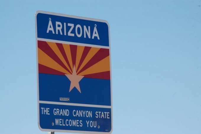 Arizona the Grand Canyon State Welcomes You