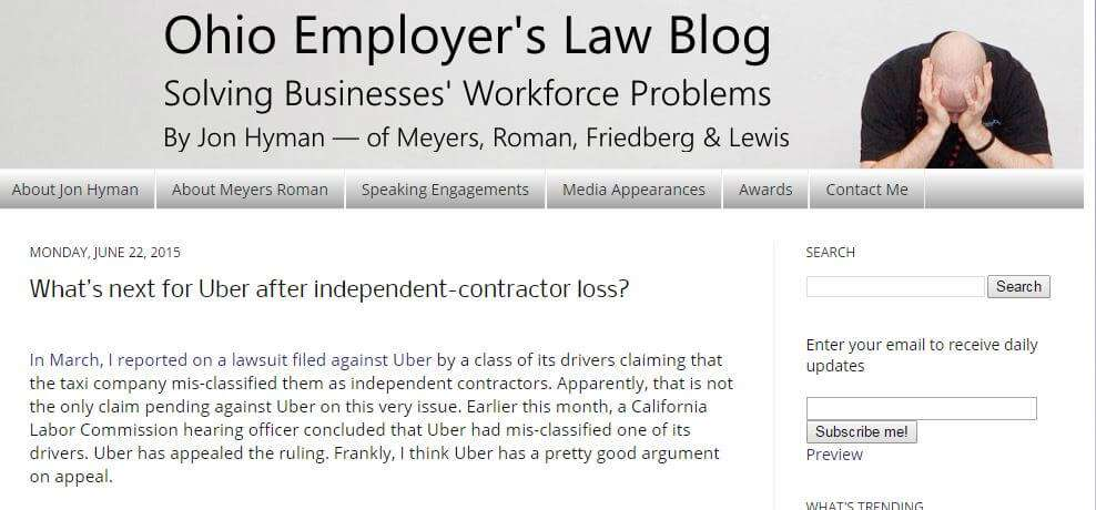 What's next for Uber after independent-contractor loss?