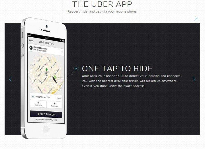 the Uber App