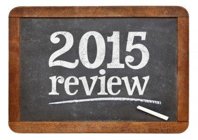 2015 Review chalkboard