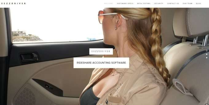 EEZZDriver — accounting software for the rideshare business