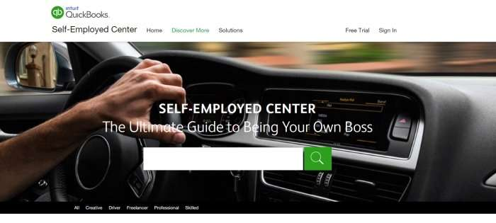 Self Employed Resource Center – QuickBooks