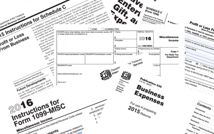 1099-MISC: Business Expenses for Independent Contractors