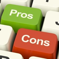 pros and cons on keyboard