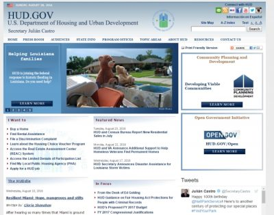 HUD website