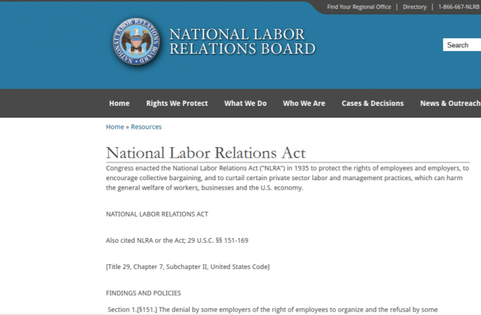 Court Enforces NLRB Investigatory Subpoena Seeking Employment Policies In Unfair Labor Practice Charge Filed by Purported Independent Contractor
