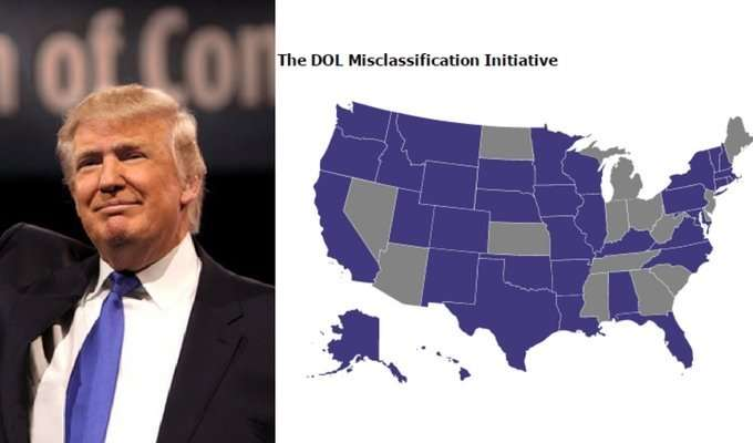 Trump's Impact on Independent Contractor Misclassification