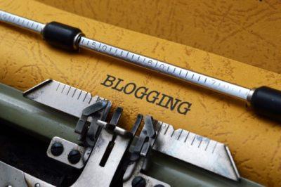 blogging-being-typed-on-typewriter