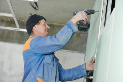 Drywall installer