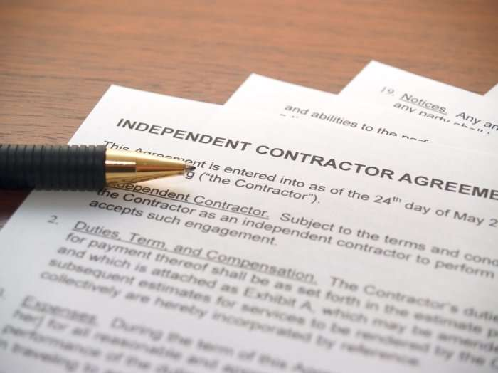 COVID-19: Five Things to Look for in Your Independent Contractor Agreements