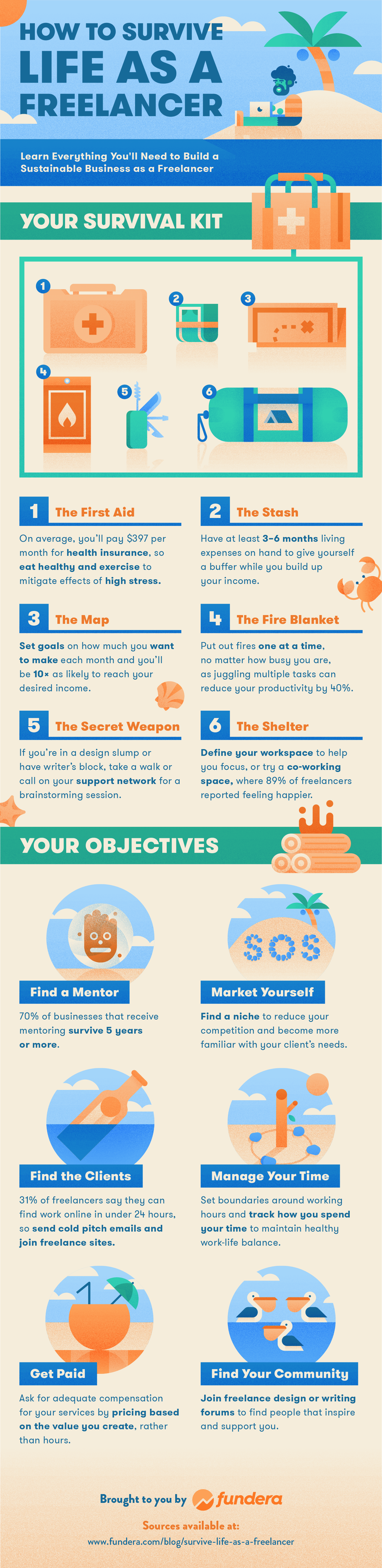 How to Survive Life as a Freelancer