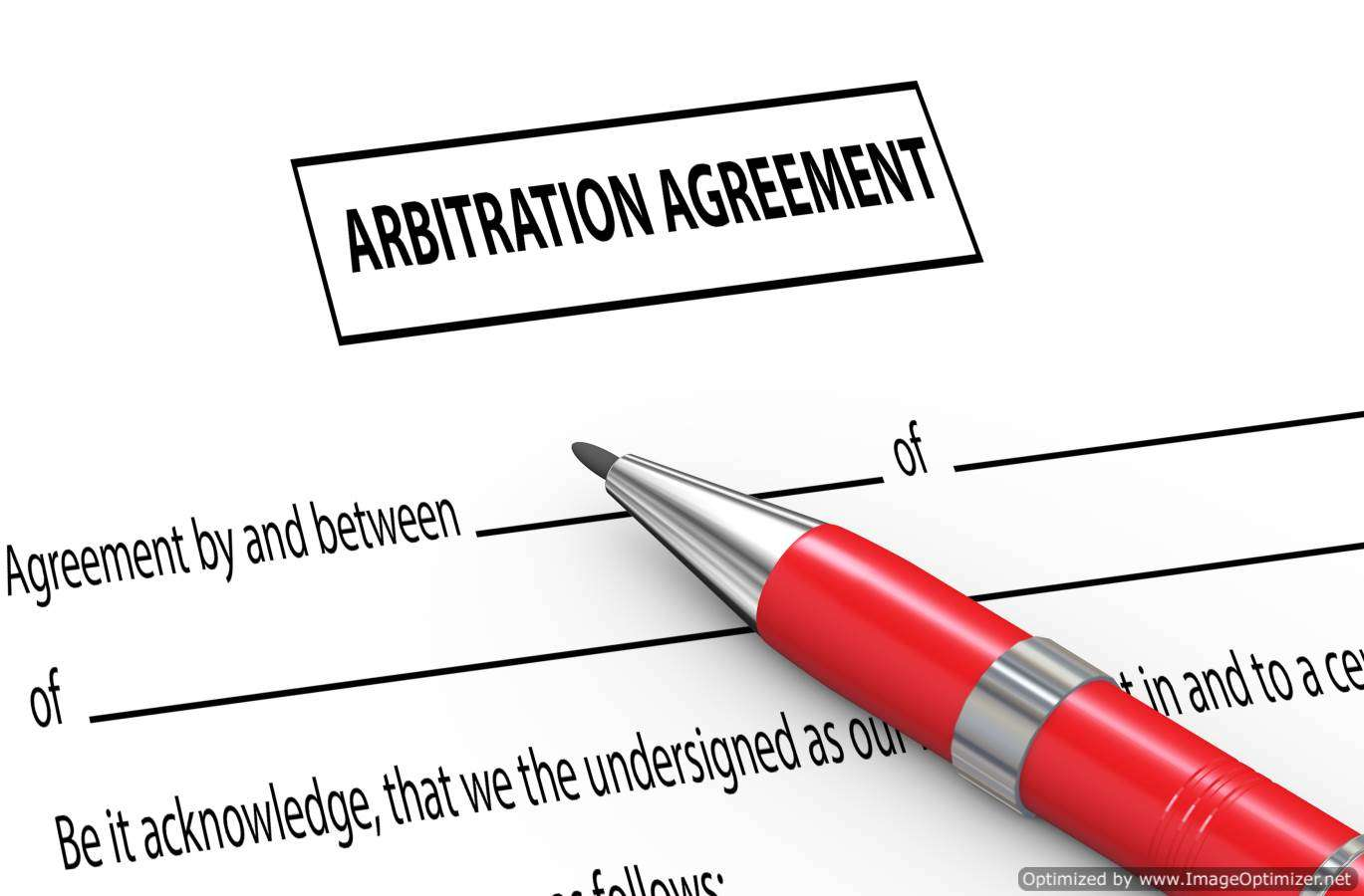 Make Sure Your Arbitration Agreement is Enforceable