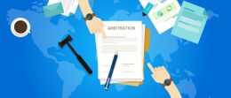 arbitration-agreement-over-map-of-the-world