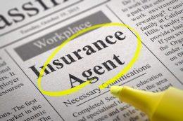 nsurance agent newspaper add