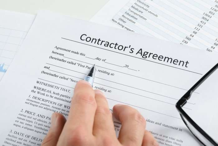 Contractor Agreements Not Worth The Paper They're Printed On, Part 785
